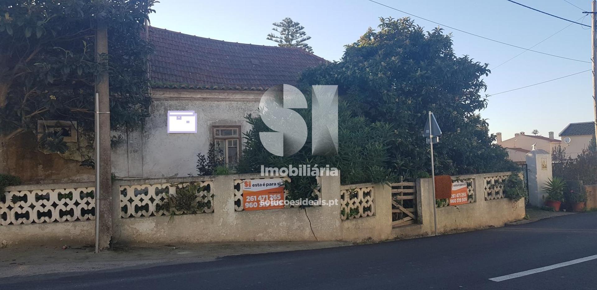 moradia para restaurar t3 para compra em lourinha uniao das freguesias de lourinha e atalaia LFCLM805