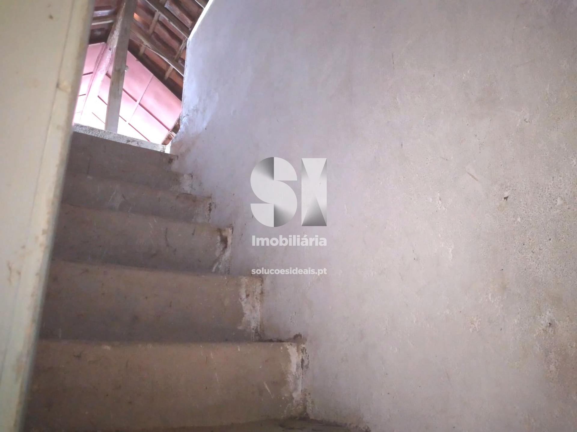 escadas sótão